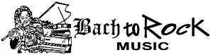 Bach to Rock Music Logo